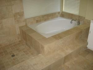 tumbled tub